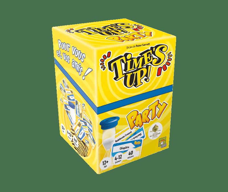 Times Up, un jeu idéal pour une bonne animation de soirée